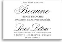 2009 Louis Latour Beaune Les Vignes Franches