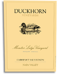 2002 Duckhorn Vineyards Cabernet Sauvignon Monitor Ledge Vineyard Napa Valley