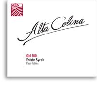 2011 Alta Colina Old 900 Syrah