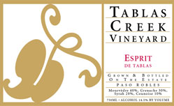 2014 Tablas Creek Vineyard Esprit de Tablas