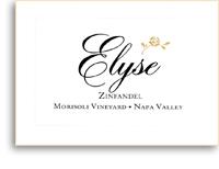 2006 Elyse Winery Zinfandel Morisoli Vineyard Napa Valley