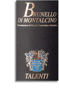 2005 Talenti Brunello Di Montalcino