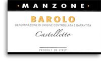 2004 Giovanni Manzone Barolo Castelletto