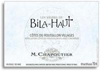 2010 Bila Haut Cotes De Roussillon Villages Les Vignes De La Haut