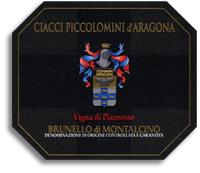 2010 Ciacci Piccolomini d'Aragona Brunello di Montalcino Vigna di Pianrosso