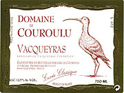 2010 Domaine Le Couroulu Vacqueyras Cuvee Classique