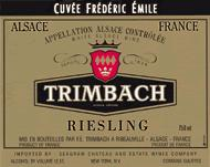 2011 Trimbach Riesling Cuvee Frederic Emile