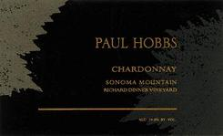 2014 Paul Hobbs Winery Chardonnay Richard Dinner Vineyard Sonoma Mountain