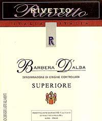 2007 Rivetto Barbera d'Alba Superiore