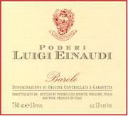 2000 Luigi Einaudi Barolo