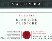 2010 Yalumba Grenache Bush Vine Barossa