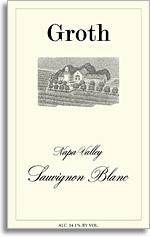 2012 Groth Vineyards & Winery Sauvignon Blanc Napa Valley