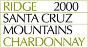 2008 Ridge Vineyards Chardonnay Santa Cruz Mountains