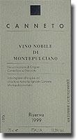 2007 Canneto Vino Nobile Di Montepulciano Riserva