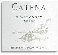 2011 Bodega Catena Zapata Chardonnay Catena Mendoza