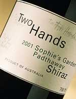 2012 Two Hands Wines Shiraz Sophie's Garden Padthaway