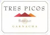 2012 Bodegas Borsao Tres Picos Garnacha Campo De Borja