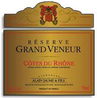 2010 Domaine Grand Veneur / Alain Jaume & Fils Cotes du Rhone Reserve