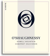 2008 O'Shaughnessy Estate Winery Cabernet Sauvignon Howell Mountain
