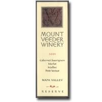 2010 Mount Veeder Winery Cabernet Sauvignon Reserve Napa Valley