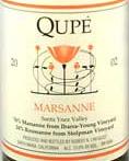 2011 Qupe Marsanne Santa Ynez Valley