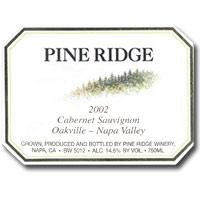 2009 Pine Ridge Winery Cabernet Sauvignon Oakville Napa Valley