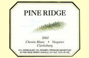 2011 Pine Ridge Winery Chenin Blanc Viognier