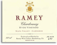 2004 Ramey Wine Cellars Chardonnay Hyde Vineyard Carneros