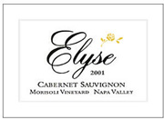 2008 Elyse Winery Cabernet Sauvignon Morisoli Vineyard Napa Valley
