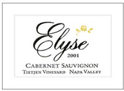 2003 Elyse Winery Cabernet Sauvignon Tietjen Vineyard Napa Valley