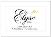 2002 Elyse Winery D'Aventure Rhone Blend