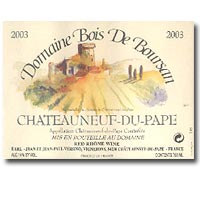 2007 Domaine Bois de Boursan Chateauneuf-du-Pape