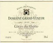 2010 Domaine Grand Veneur / Alain Jaume & Fils Blanc de Viognier Cotes-du-Rhone Blanc