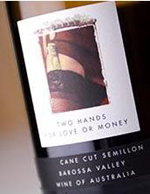 2003 Two Hands Wines Cane Cut Semillon For Love Or Money Barossa Valley
