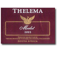 2009 Thelema Mountain Vineyards Merlot Stellenbosch