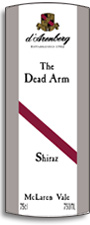 2011 d'Arenberg The Dead Arm Shiraz McLaren Vale