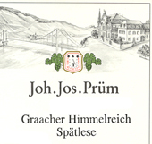 2010 Joh. Jos. Prum Graacher Himmelreich Riesling Spatlese