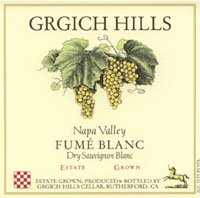 Vv Grgich Hills Cellars Fume Blanc Napa Valley