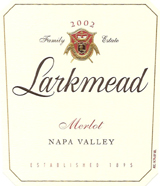 2002 Larkmead Merlot Napa Valley