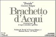 2005 Braida di Giacomo Bologna Brachetto d'Acqui