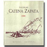2012 Bodega Catena Zapata Nicolas Catena Zapata Mendoza