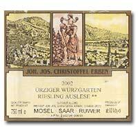 2009 Joh. Jos. Christoffel Erben Urziger Wurzgarten Riesling Auslese **