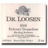 2009 Dr. Loosen Erdener Treppchen Riesling Kabinett