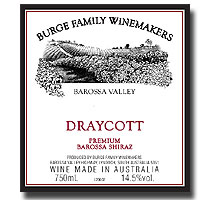 1999 Burge Family Winemakers Draycott Shiraz Barossa Valley