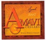 2012 Amavi Cellars Syrah Walla Walla Valley