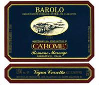 2010 Ca' Rome Barolo Vigna Cerretta