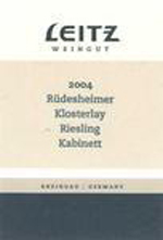 2013 Josef Leitz Rudesheimer Klosterlay Riesling Kabinett