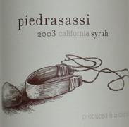 2010 Piedrasassi Syrah California