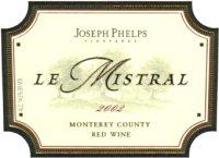 2006 Joseph Phelps Le Mistral Red Wine Monterey County