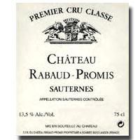 2007 Chateau Rabaud Promis Sauternes
